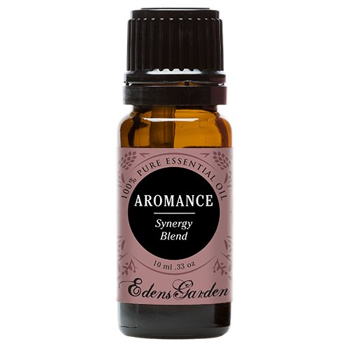 Aromance (previously Sensation) Synergy Blend Essential Oil by Edens Garden- 10 ml (Ylang Ylang, Patchouli, Sweet Orange, Sandalwood and Jasmine)