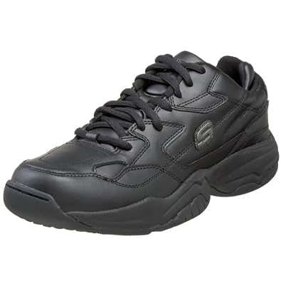 Skechers for Work Men's Keystone Sneaker,Black,7 M US
