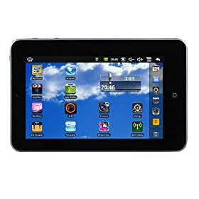 Eken M009s Google Android 2.2 7 Inch VIA 8650 800mhz 4gb Tablet Pc Silver
