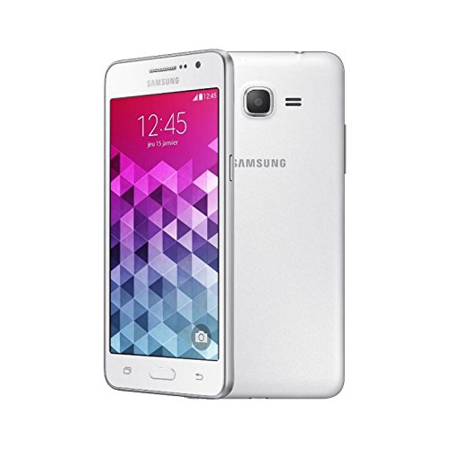 Samsung G531 4 g Smartphone UNLOCKED (Display: 5 Zoll, 8 GB, einfach, Micro-SIM, Android) weiß