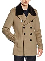Burberry Chaqueta Elson (Taupe / Negro)