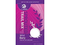 Living Intentions: Wild Berry Sprouted Trail Mix 7 Oz (6 Pack)