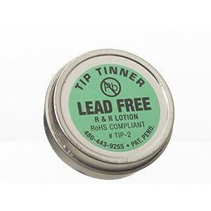 r r lotion tip 2 i c lead free tip tinner 1 1 2oz size for soldering iron tips science lab. Black Bedroom Furniture Sets. Home Design Ideas