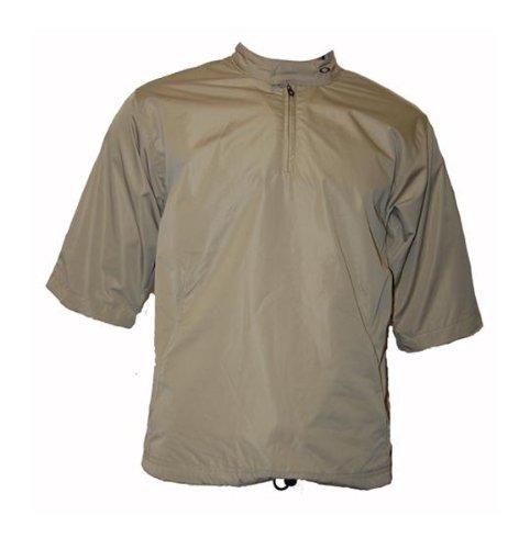 Mens Oakley Carbon Windcheater Golf Jacket New Khaki (Small) B2