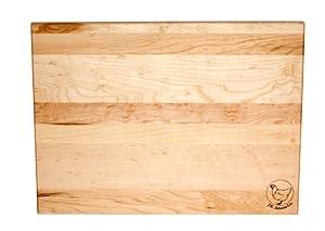 J.K. Adams 20-Inch-by-16-Inch Sugar Maple Wood Takes Two Cutting Board
