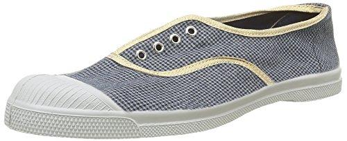 BensimonTennis Elly  Checks - Sneaker Donna , Blu (Bleu(9985 Pied De Puce)), 39
