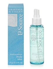Crabtree & Evelyn® La Source Refreshing Body Mist 120ml