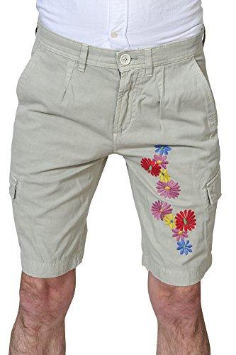 Manuel Ritz Pantaloni Uomo Verde Chiaro / Pantaloncini normale Taglio Largo