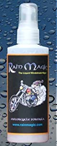 Rainmagic Rain Repellent Glass and Motorcycle Formula from Rainmagic