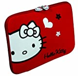 Port HELLO KITTY 13.3 inch Laptop Sleeve with Red Flowers