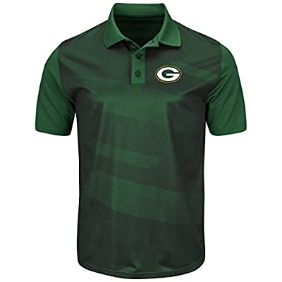 "Green Bay Packers Majestic NFL ""Club Seat"" Men's Short Sleeve Polo Shirt"