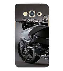 PrintVisa Sports Bike Design 3D Hard Polycarbonate Designer Back Case Cover for SAMSUNG GALAXY J3 PRO
