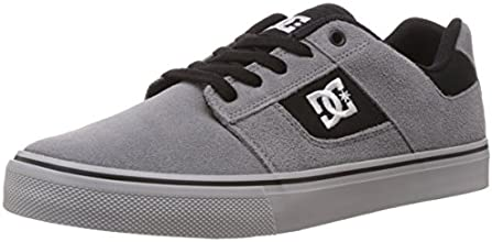 DC Shoes Bridge, Baskets mode homme - Gris (Grey/Grey/Black) 43 EU