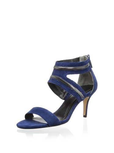 Pour La Victoire Women's Belz Dress Sandal with Metal Detail