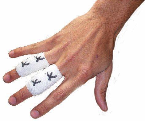 PST Torwart-Schutztape für Finger / Handgelenk, Schwarz oder Weiß schwarz schwarz