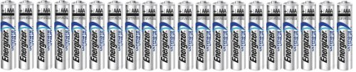 Energizer Ultimate Lithium AAA Size Batteries - 20 Pack - Bulk Packaging (Aa Lithium Batteries compare prices)