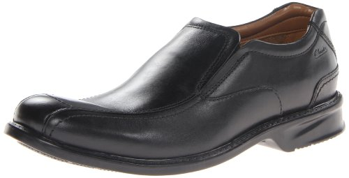 Clarks Men's Colson Knoll Slip-On Loafer,Black,9.5 M US