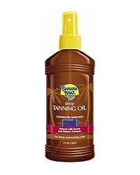 Banana Boat Deep Tanning Oil Spray No SPF 8 oz