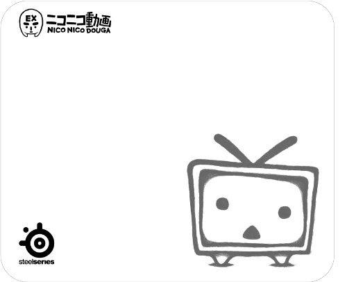 SteelSeries ドワンゴ認定ニコニコ動画オリジナルマウスパッド Qck NicoNico Limited Edition 67203