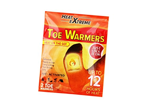 Heat Extreme Toe Warmers: 10 Pairs