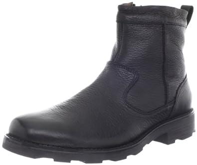 Florsheim Men's Trektion Plain Toe Zip Winter Boot, Black, 8 M US