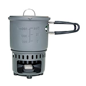 Esbit Trockenbrennstoffkocher Trockenbrennstoff-Kochset von Esbit