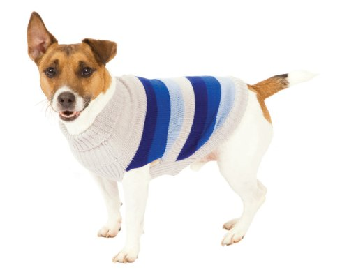 Fashion+Pet+Blue+Best+in+Stripe+Dog+Sweater+Extra+Large