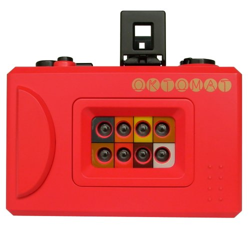 Best Deals! Lomography OKTOMAT Compact 35mm Camera with 8 Serial Lenses