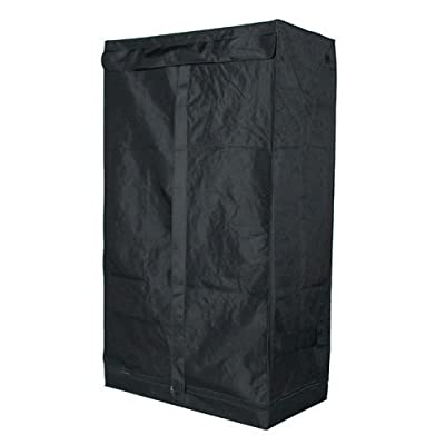 36x20x62 Grow Tent Dark Room Hydroponic Box By Gyosupply, Gyo-1001