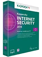 Kaspersky internet security 2014 (3 postes, 1 an)