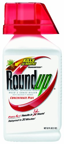 RoundUp Weed & Grass Killer Plus Bonus Size Concentrate - 32 oz. (5100610)