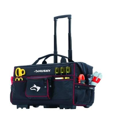 Husky 22 in. Rolling Pro Tool Tote (Trades Pro Tools compare prices)