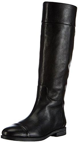 Geox D DALYA, Stivali da equitazione Donna, Nero (Schwarz (BLACKC9999)), 38,5 (5.5 uk)