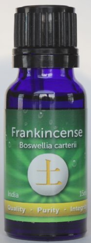 Frankincense 15Ml- Boswellia Serrata - India - 100% Therapeutic Grade Wild Grown - Gras - May Be Beneficial For Anti-Catarrhal, Anti-Depressant, Tension, Conditions. An Incredible Immune System Builder, May Assist Digestive Disorders, Asthma, Bronchitis,