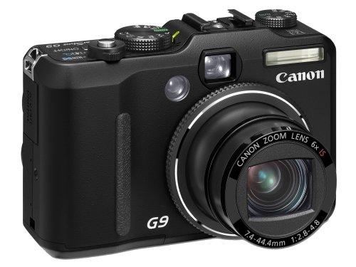 Canon PowerShot G9 Digital Camera - Black (12.1MP, 6x Optical Zoom) 3.0