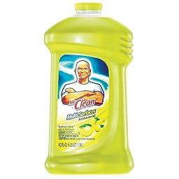 Procter And Gamble PGC 31502 Mr Clean Antibacterial Liquid- Summer Citrus Scent- 40 Oz - Case of 9
