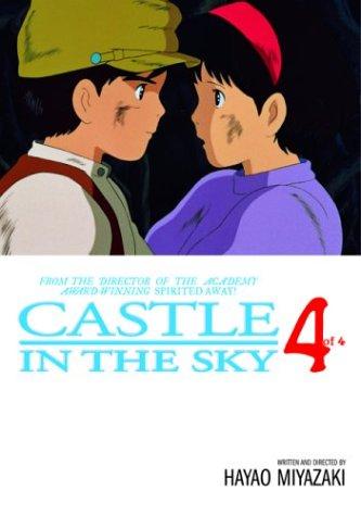 天空の城ラピュタ コミック4巻(完) (英語版)