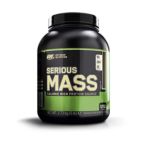Optimum Nutrition Serious Mass Suplemento para Deportistas, Sabor de Chocolate - 2727 gr