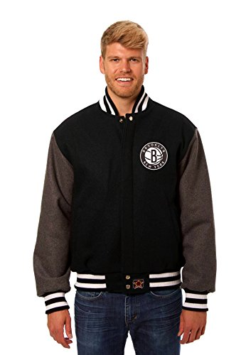 Brooklyn Nets Wool Varsity Jacket (Medium) (Brooklyn Nets Car Emblem compare prices)