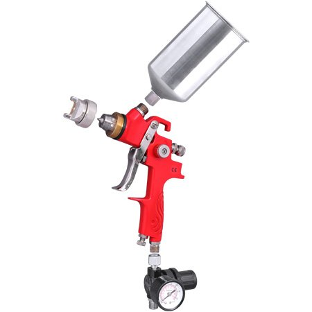 1.4 Tip HVLP Spray Gun Auto Paint Car Base Coat Primer Clear Gauge Gravity Feed (Clear Coat Spray Gun compare prices)