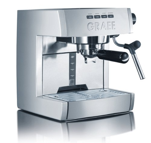 Graef ES80 Matt Brushed Single Thermoblock Espresso Machine