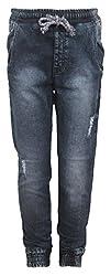Vitamins Boys' Jeans (22B-744-40-Dx.Wash_Dark Blue_13 - 14 Years)