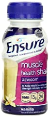 Ensure Muscle Health Vanilla Liquid 8-Ounce Pack of 16