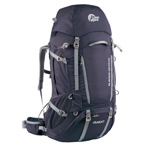 9728a1fd4 Lowe Alpine Elbrus ND 55:65 Hiking Backpack One Size Aubergine ...