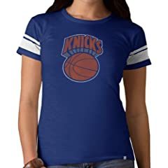 NBA New York Knicks Game Time Tee, Bleacher Blue by