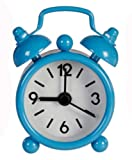 Boys & Girls, Bedside Table Mini BLUE Alarm Clock - Great for Getting You Up In The Morning! Ideal Gift For Those That Struggle!! - Birthday, Christmas or Stocking Filler