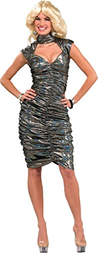 Morris Costumes FM62863 Disco Queen Adult Ml 8-12