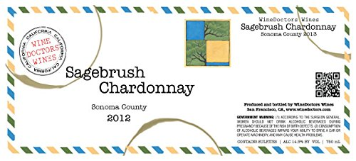 2013 Winedoctors' Sagebrush Sonoma County Chardonnay 750 Ml