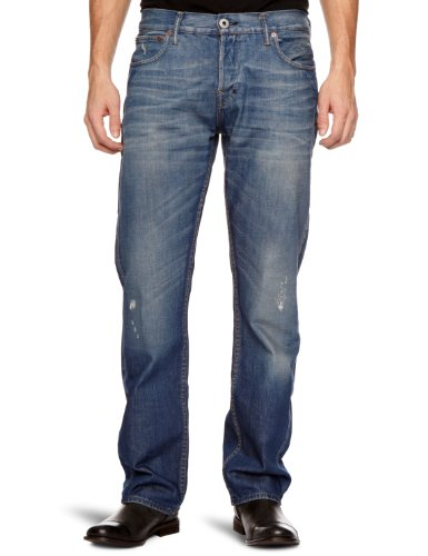 Firetrap Rom-G2-W106 Straight Men's Jeans Busted.W W28 Inxl32 In