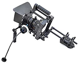 Battle Tested Film Gear 954-FC-57 Filmcity Shoulder Dslr Handheld Rig (Black)